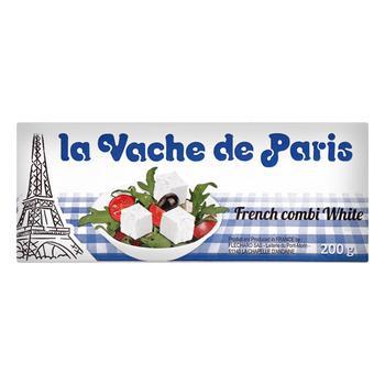 Продукт рассольный Парижская Буренка 55% 200г - купить, цены на Ашан - фото 1