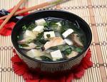Мисо суп с грибами шиитаке и тофу