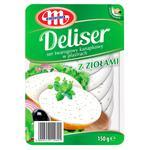 Сыр Mlekovita Deliser сливочный с зеленью 150г