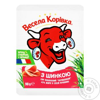Vesela Korivka Processed Cheese With Ham - buy, prices for Furshet - image 5