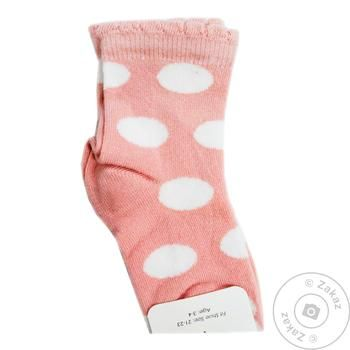 Носки детские Katamino для девочек 9-10р - купить, цены на Таврия В - фото 1