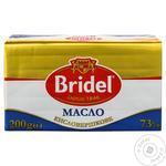 Масло Bridel кислосливочное 73% 200г