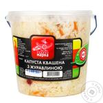 Chudova Marka Pickled With Cranberries Cabbage Salad 900g - buy, prices for Furshet - image 1