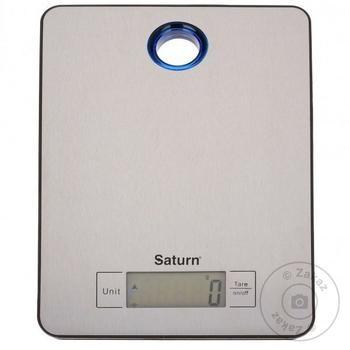 Весы кухонные Saturn ST-KS7804 - купить, цены на Ашан - фото 1