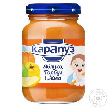 Пюре Карапуз 200 г яблуко гарбуз айва - купити, ціни на Таврія В - фото 1