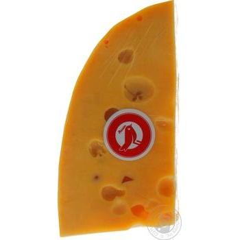 Сыр Ашан Эмменталь 45% - купить, цены на Ашан - фото 2