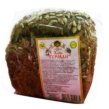 Bread Saltiv bakery Hurman rye 350g Ukraine - buy, prices for Tavria V - image 1