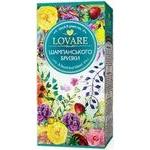 Чай Lovare Бризки Шампанського чорний та зелений листовий з ягодами та фруктами 24шт*2г