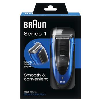 Бритва электрическая Braun Series 1 190S-1 - купить, цены на Фуршет - фото 1