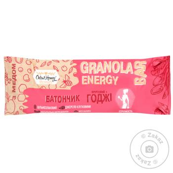 Candy bar Oats&honey grains with goji berries 40g Ukraine - buy, prices for MegaMarket - image 2