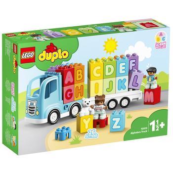 Конструктор Lego Duplo Грузовик с буквами