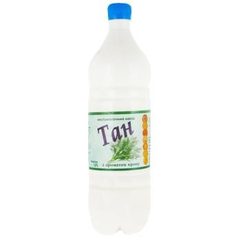 Lisova Kazka Chilled With Dill Sour Milk Drink 1% - buy, prices for Auchan - photo 1