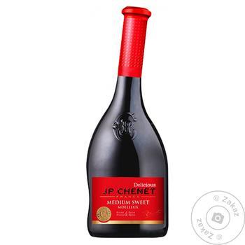 Вино J.P.CHENET красное полусладкое 0.75л