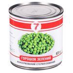 Semerka Canned Green Peas 420g