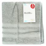 Towel Auchan Actuel grey 50x100cm India