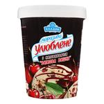 Hladyk Yliublene With Winter Сherry Filling Ice-Cream 500g Paper Cup