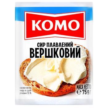Komo Processed Cheese Cream 55% 75g