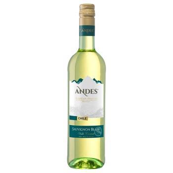 Вино Andes Sauvignon Blanc біле сухе 12,5% 0,75л