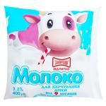 Молоко Малятко Злагода для питания детей от 9 месяцев стерилизованное 3,2% 400г