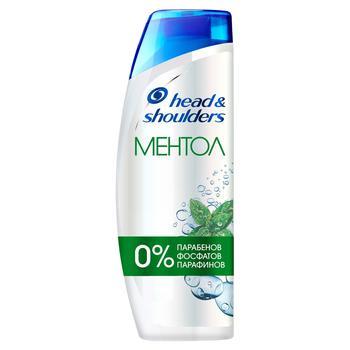 Head & Shoulders Menthol Freshness Shampoo 400ml - buy, prices for CityMarket - photo 1