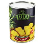 Ананаси Ріо шматочками в сиропі 580мл Таїланд