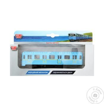 Игрушка Techno Park модель вагон метро - купить, цены на Таврия В - фото 1