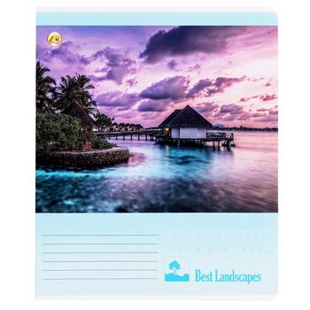 Tetrada Lux Lined Notebook 18 sheets