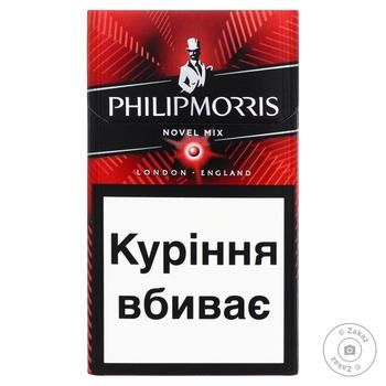 Сигареты Philip Morris Novel Mix Summer - купить, цены на Фуршет - фото 1