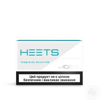 Стіки тютюновмісні Heets Turquoise Label 0,008г*20шт - купити, ціни на Восторг - фото 5