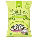 Попкорн Light Corn зі смаком сметани та зелені 20г