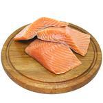Філе лосося слабосолене