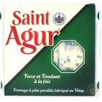 Сир Saint Agur з блакитною пліснявою 60% 125г