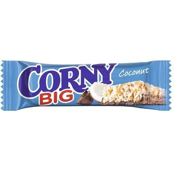 Corny With Milk Chocolate And Coconut Cereal Bar 50g - buy, prices for Auchan - image 2