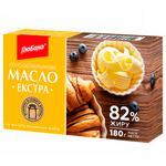 Масло Глобино Экстра сладкосливочное 82% 180г