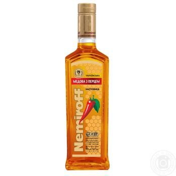 Nemiroff Ukrainian Honey Vodka with pepper 40% 0,5l