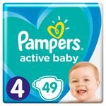 Подгузники Pampers Active Baby 4 9-14кг 49шт