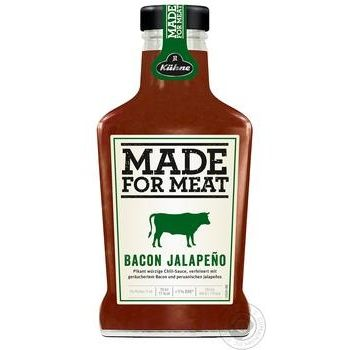 Kuhne Bacon Jalapeno for meat sauce 375ml - buy, prices for Novus - image 1
