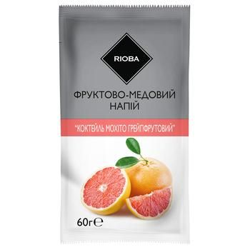 Чай Rioba розчинний концентрований зі смаком мохіто 60г - купити, ціни на Метро - фото 1