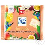 Шоколад белый Ritter Sport с кремом маракуйя и манго 100г - купить, цены на МегаМаркет - фото 1