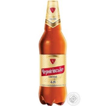 Chernihivske Svitle Lager beer 1l