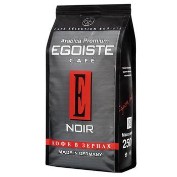 Кофе Egoiste Cafe Noir в зернах 250г - купить, цены на Ашан - фото 1