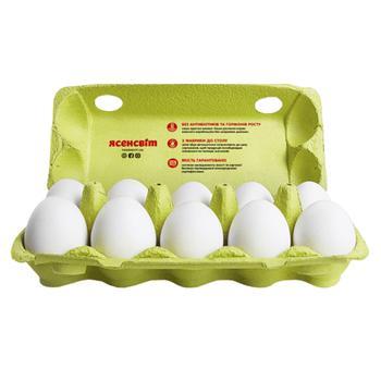 Яйца куриные Ясенсвіт С1 10шт - купить, цены на Varus - фото 2