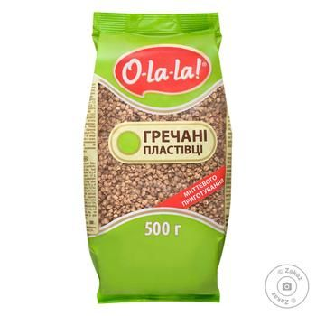 Хлопья гречневые О-ла-ла! мгновенного приготовления 500г Украина - купить, цены на Восторг - фото 1