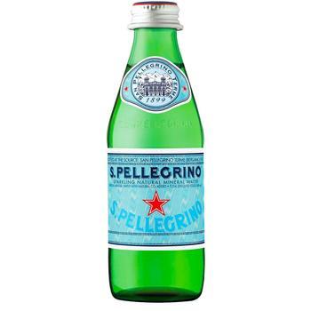 Вода S.Pellegrino минеральная газированная 0,25л - купить, цены на СитиМаркет - фото 1