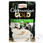 Напій кавовий Mokate Gold Капучино лісовий горіх розчинний 12.5г