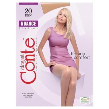 Колготи жін. поліамідні Conte Elegant Nuance 20 р.5 Bronz