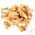 Сухарі пшенично-житні зі смаком краба ваг.
