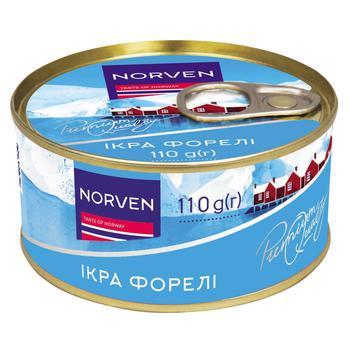 Икра Norven форели ж/б 110г - купить, цены на СитиМаркет - фото 1
