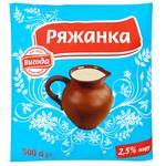 Vygoda 2.5% Ryazhenka 500g