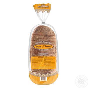 Хлеб КиевХлеб Белорусский ржаной нарезанный 700г - купить, цены на Novus - фото 4